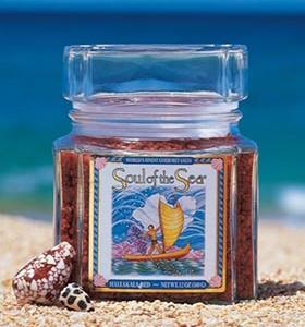 Hawaiian Soul of the Sea Gourmet Red Alaea Seasalt