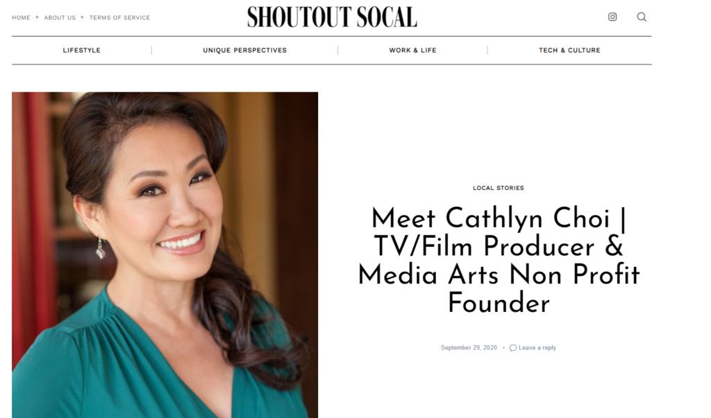 Cathlyn Choi on Shoutout Socal