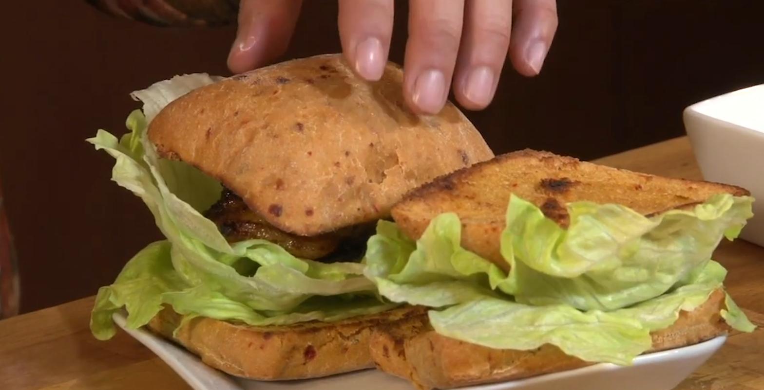 Spicy Pork Belly Sandwich, Cathlyn's Kitchen