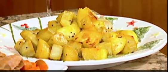 Glazed Sweet Potatoes (Mattang)